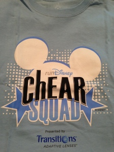 The cotton t-shirt included with the Gold ChEAR Squad package.