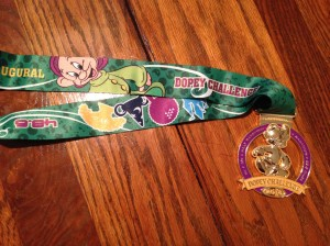 48.6 miles in four days is a lot of miles. That's what it takes to earn the Dopey Challenge medal.