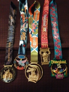 All of my bling for Disneyland weekend.