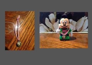 I only purchased the vinylmation Tinker Bell medal at the Expo. Marathon Mickey is earning his collection!