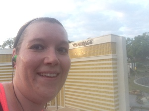 This is me in front of the MGM Grand in LegoLand Mini Town USA. There is a replica of the Las Vegas strip made entirely of Legos!