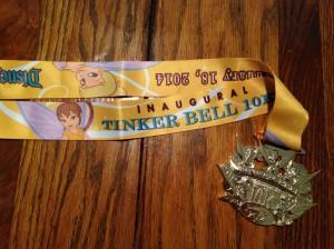 Tink 10k Medal