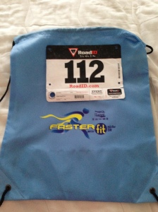 My bib and sling style backpack for the Faster with FitNiche 5k.