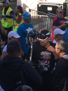 Joey Fatone finished a few minutes before me. Thanks to cheer-tator for taking some great pics for me.