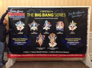 The Big Bang Series is a 3 or 5-year race series. I missed the first year so I'll only be eligible for the 3-year challenge medal.