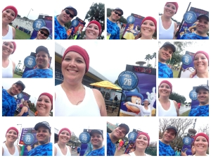 The last 13 mile markers of the marathon. That makes 48 mile marker pictures for the weekend! Mission accomplished!
