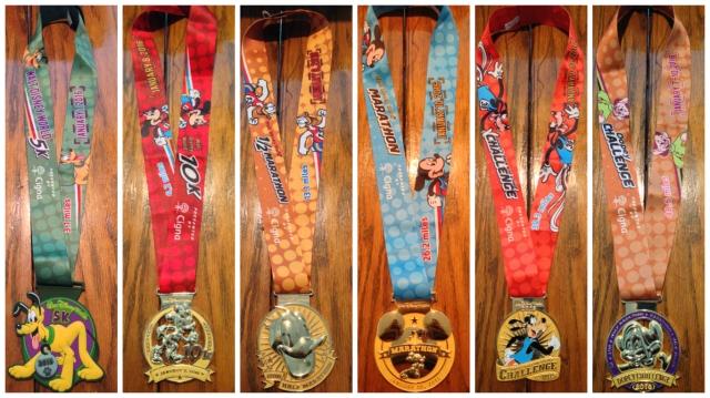 Dopey Medals 2016